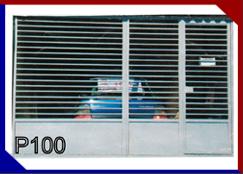 MODELO PORTÃO P100